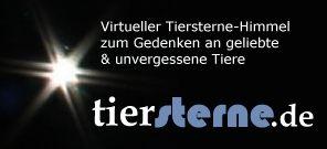 Tiersterne.de-Virtuelle Gedenkstätte für Tiere